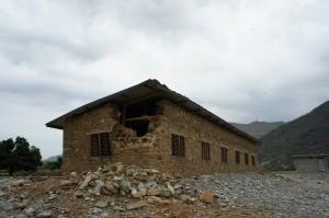 June 14 damaged school building