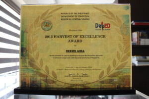 2. Harvest of Excellence Award of SEEDS Asia