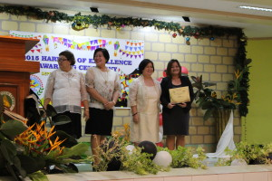 4. Awarded Recognition with RD Jeruta of DepEd RO7