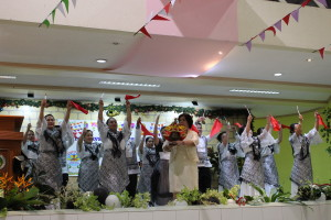 9. Sinulog Dance Presentation Headed by RD Juliet Jeruta of DepEd RO7